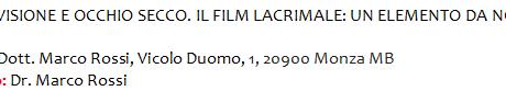 [:it]Qualità della Visione e Occhio Secco. Il Film Lacrimale: un elemento da non sottovalutare[:]